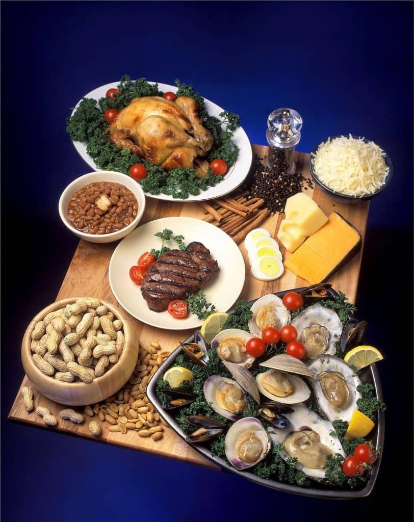 Lebensmittel mit hohem Zinkgehalt