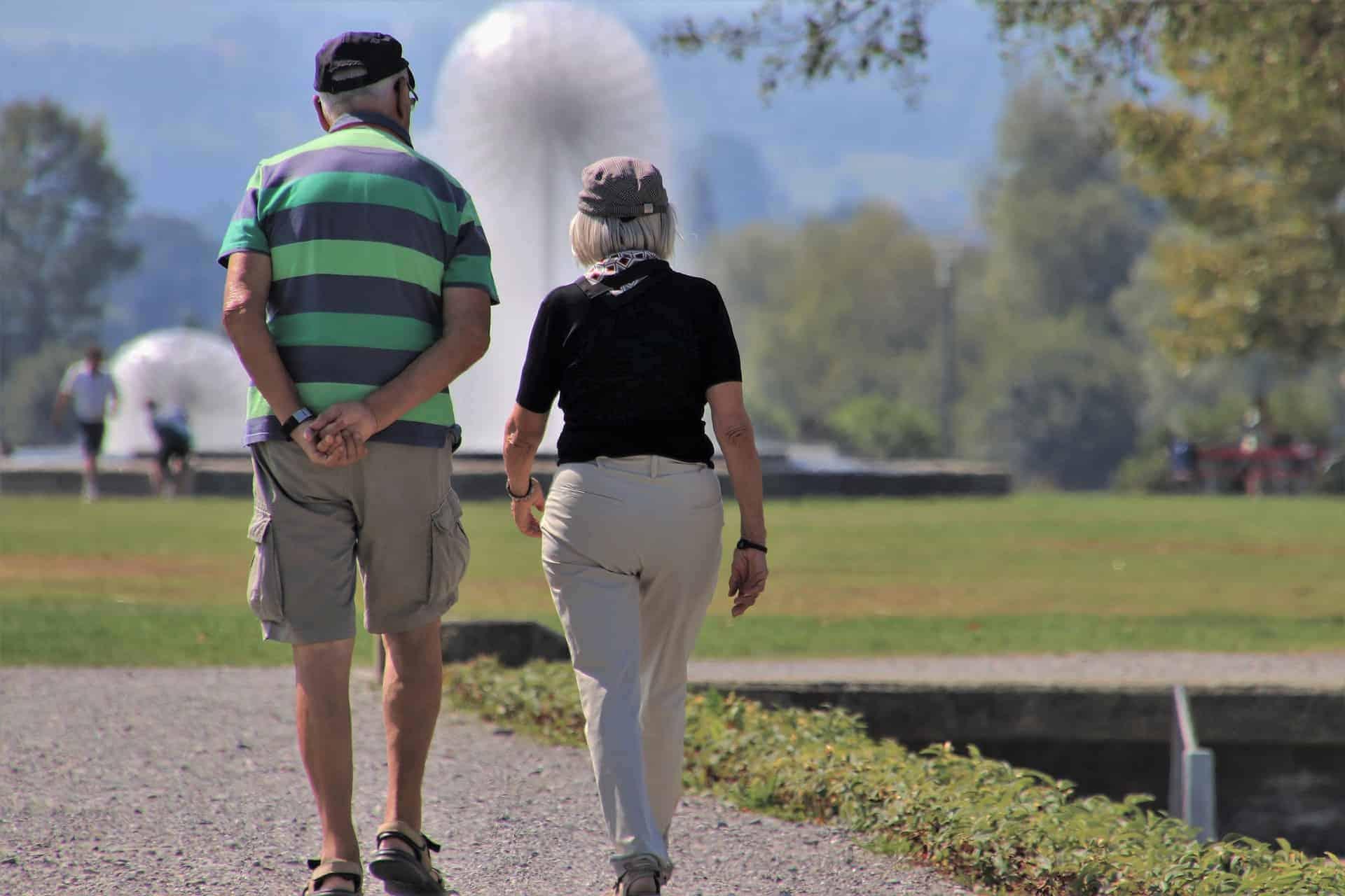 idősebb pár